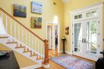 Beautiful 2 story entrance foyer welcomes you home.