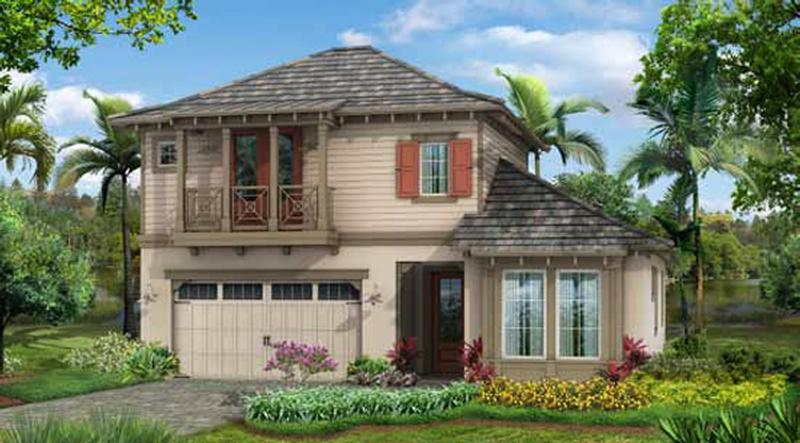 Bougainvillea Model, elevation A
