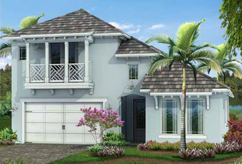 Bougainvillea Model, elevation B