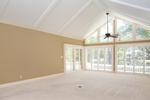 Cathedral ceilings and fantastic natural light in the LR and throughout the house.