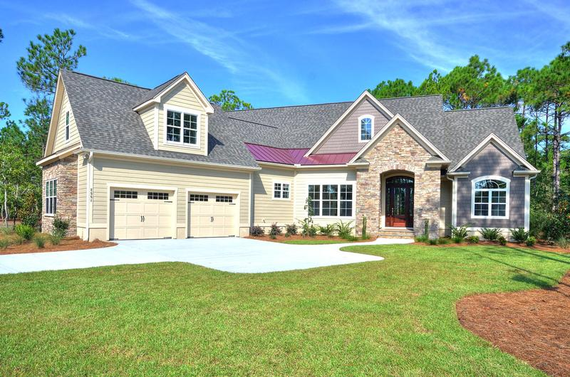 Southport north carolina luxury home 2551 parkridge for St james plantation builders