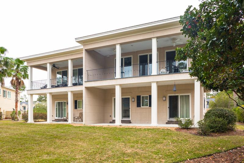 Two covered porches round out this incredible townhome!