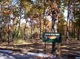 Arrow Head Parkl features a Gazebo, a huge waterfall, hiking trails and contains 3 acres reserved especially for the owners and their guests to enjoy.