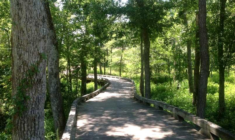 Parks, nature trails, waterfalls and fountains are located throughout the community.