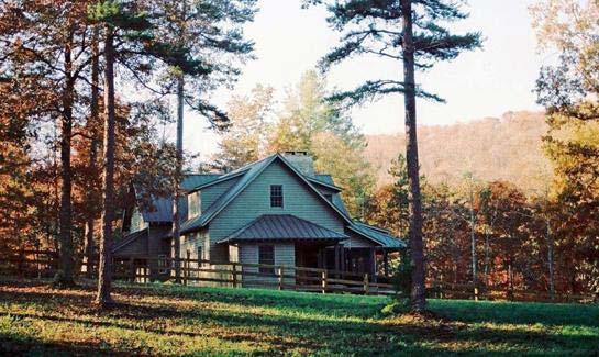 Anderson Creek Retreat In Ellijay Georgia Luxury Homes
