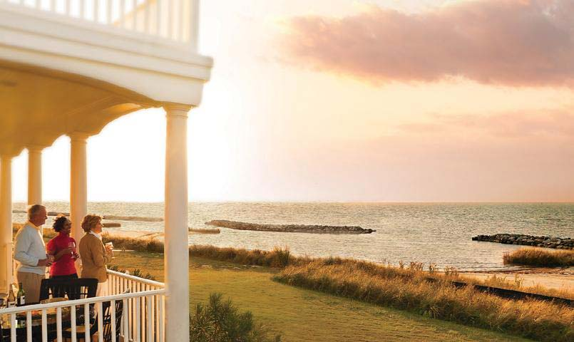 Bay Creek offers quality custom homes with waterfront views.
