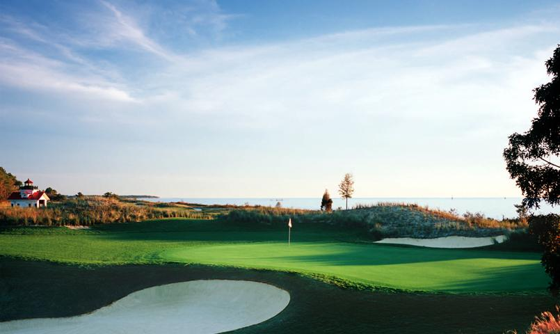 Bay Creek's 18-hole golf course