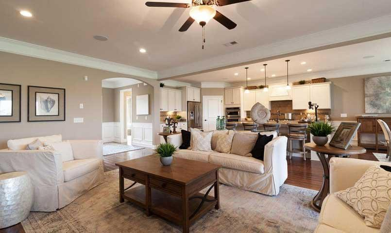 The Dunwoody Way - Living Area