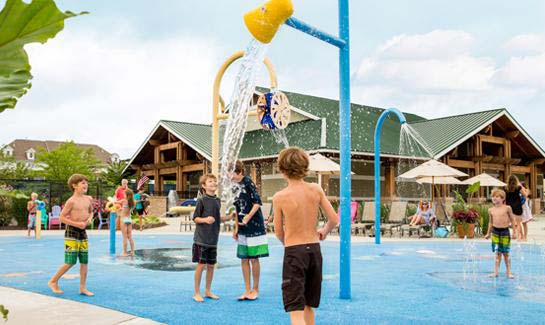 Kid's Splash Zone at Bayside