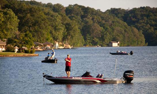 A variety of fish can be caught in Bella Vista Village's seven picturesque lakes.