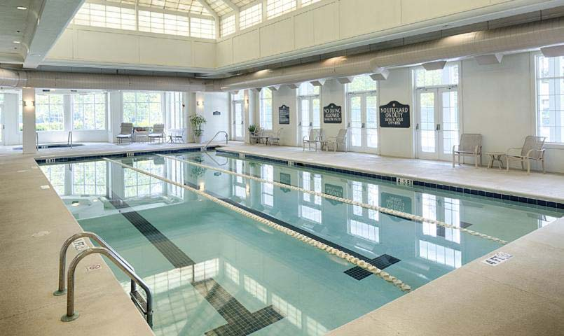 Berkeley Hall indoor pool