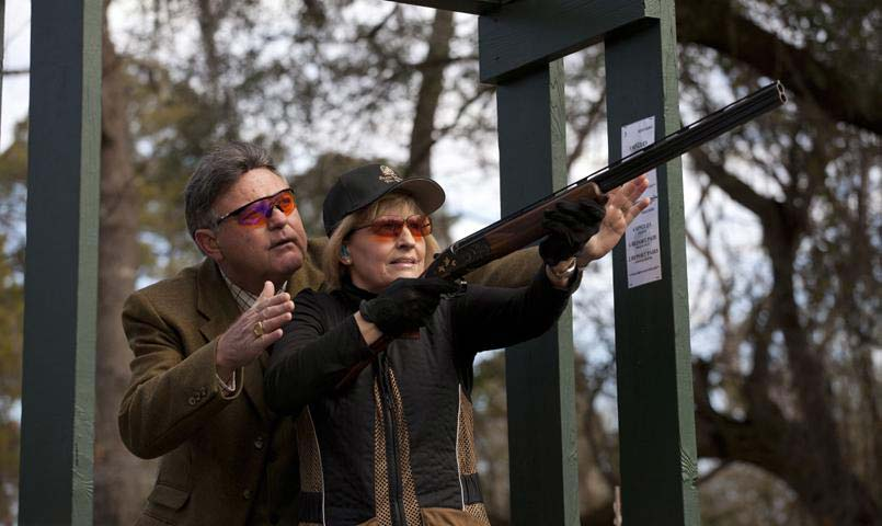 The Gun Club at Brays Island offers the finest facilities for clay shooting including skeet, trap, five-stand and bunker trap.