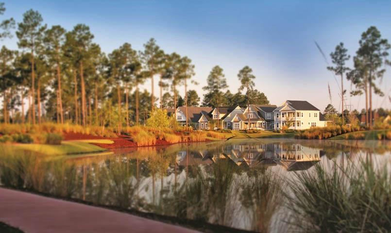 Shelmore at Brunswick Forest is a quiet enclave of bungalow-style homes with open floor plans, gourmet kitchens, spacious master suites and high-end finishes.