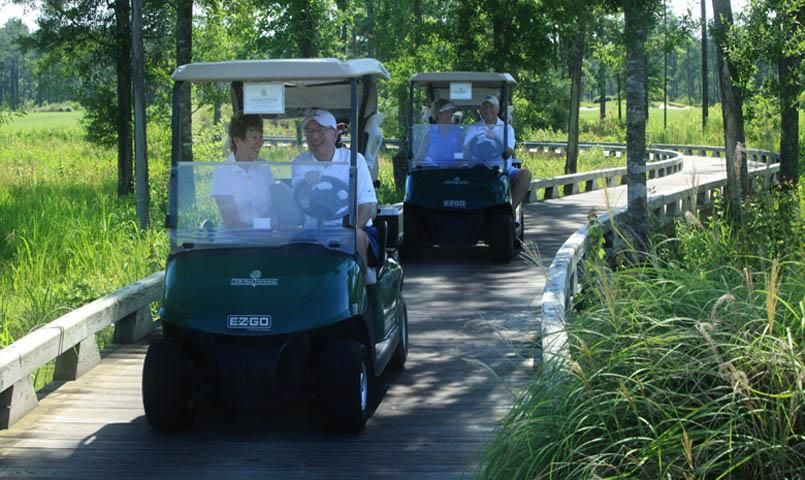 Enjoy a day with friends on the must-play Cape Fear National Course.