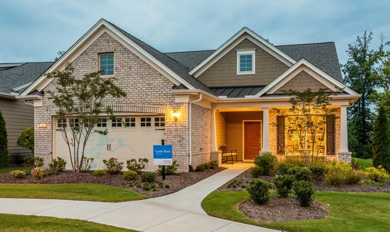 Carolina Arbors by Del Webb Castle Rock model home