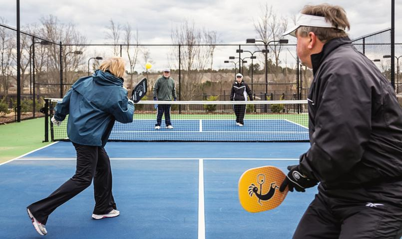 Carolina Arbors Pickleball Courts