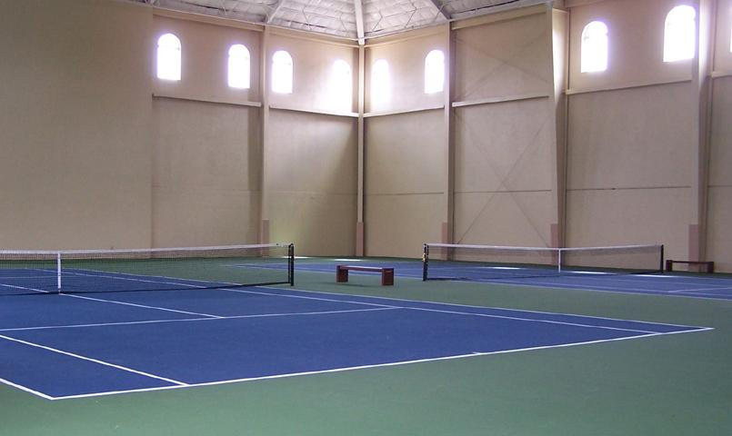 There Are Two Indoor Climate Controlled Tennis Courts. 8 Of 10