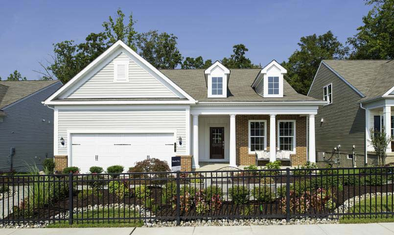 Model home at Celebrate by Del Webb
