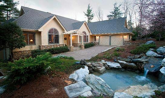 Each home within Champion Hills is designed to fit the flow of the property.