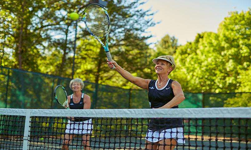 Champion Hills has a full time fitness instructor and tennis professional on staff.
