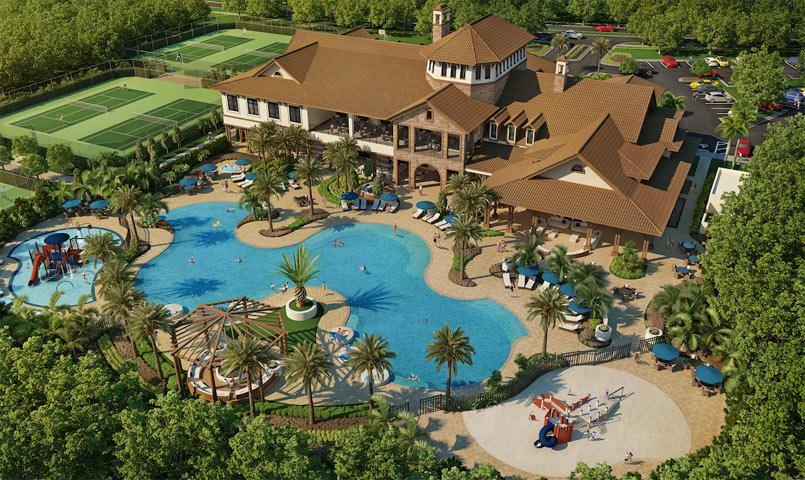Chateaux At Miralago Gated Community In Parkland Florida
