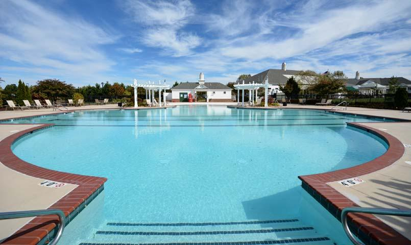 Colonial heritage 55 retirement community in Retirement villages with swimming pools