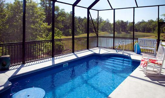 Compass pointe wilmington nc area gated golf retirement for Lanai structure