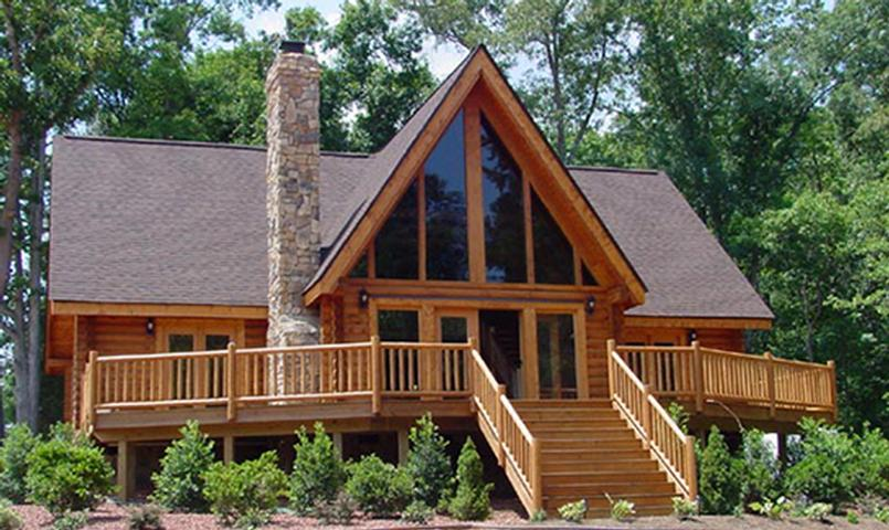 Custom Tennessee mountain home within Cumberland Overlook.
