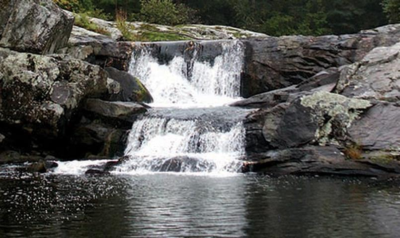 Cumberland Overlook is home to numerous waterfalls and freshwater creeks.