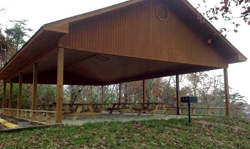 Residents of Cumberland Overlook have access to an onsite park with gazebo.