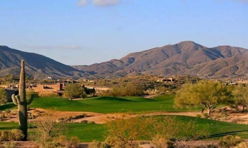 Desert Mountain Gated Golf Community In Scottsdale