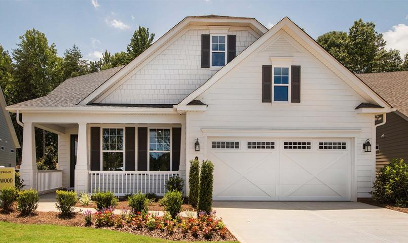 Dogwood model with 2 Bedroom, 2 Bath, Den, Great Room, 2-Car Garage and option for a 3rd Bedroom
