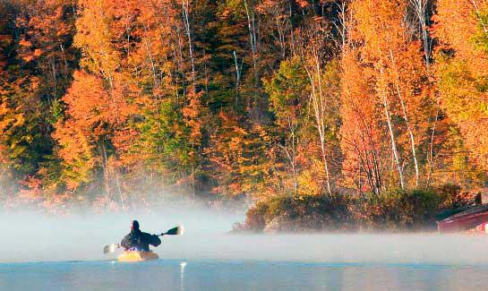 Beauty surrounds you on Eastman Lake