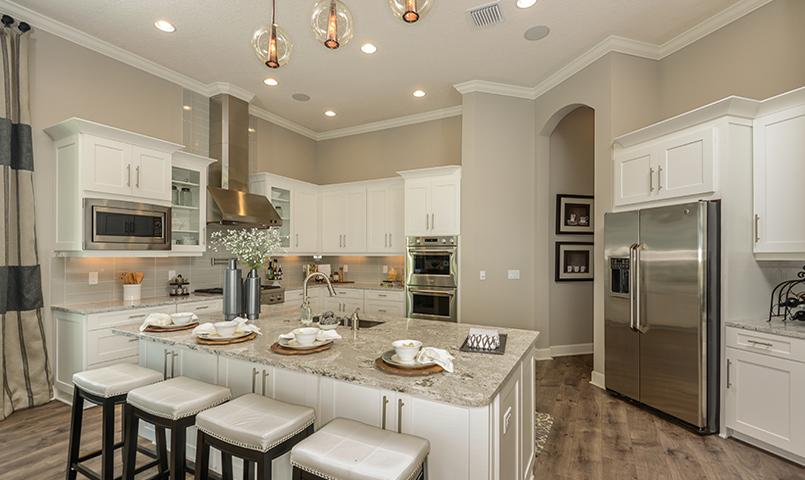 Vinci Model Home Kitchen