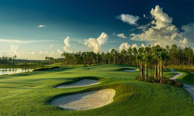 The championship golf course is designed by Chris Wilczynski of C.W. Golf Architecture.