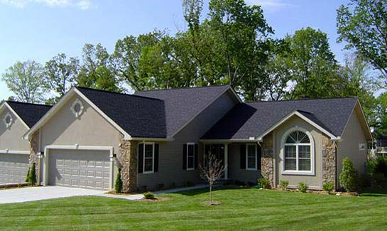 Townhomes offer maintenance-free living and scenic views of the fairway, green or wooded areas.