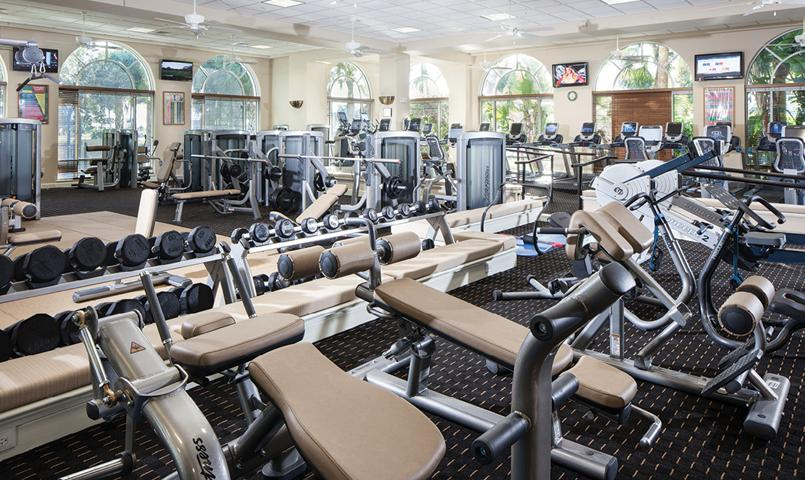 Fitness Center at Fiddler's Creek