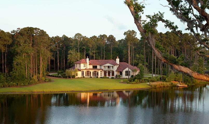 With a variety of different settings, available homesites include marsh, lake, river, wooded, and golf course views.