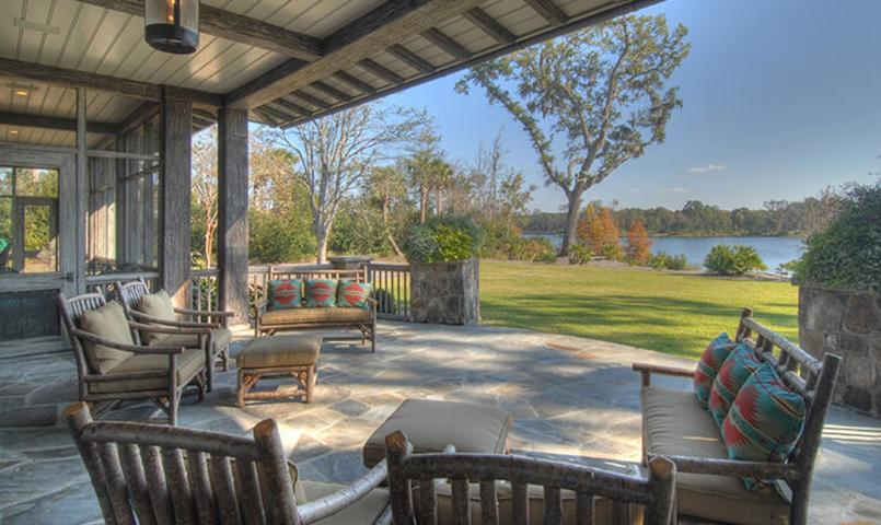 Frederica Living is the ability to enjoy the outdoors practically year round.