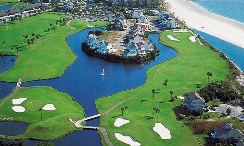 South Carolina Beach Resort Island