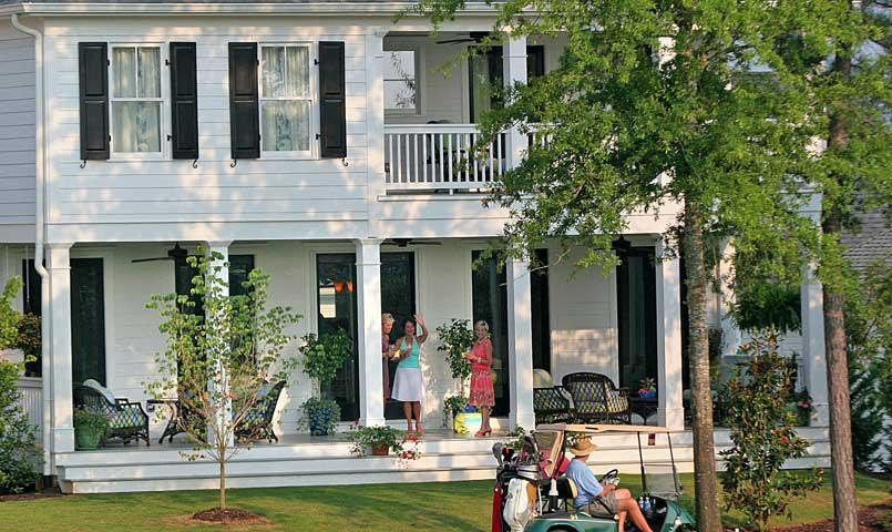 Classic Southern architecture, quality lifestyle amenities and a strong sense of community characterize The Georgia Club— a debt free golf community located just 30 minutes outside of Atlanta, Georgia.