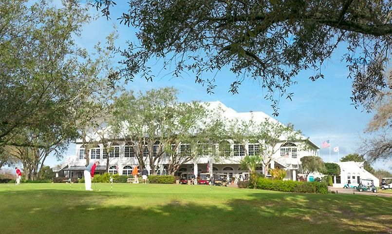 The clubhouse at GlenLakes