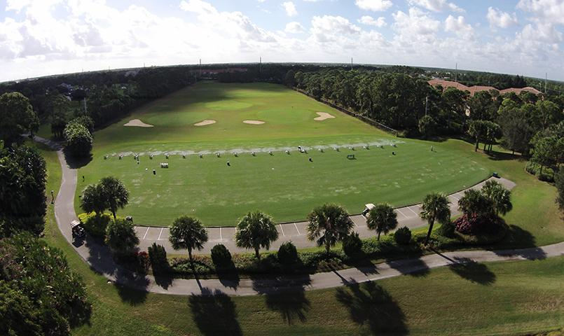 Mariner Sands has a first-class golf practice facility and a team of PGA pros.