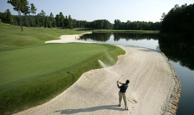 Governors Club includes a 27-hole Jack Nicklaus Signature golf course
