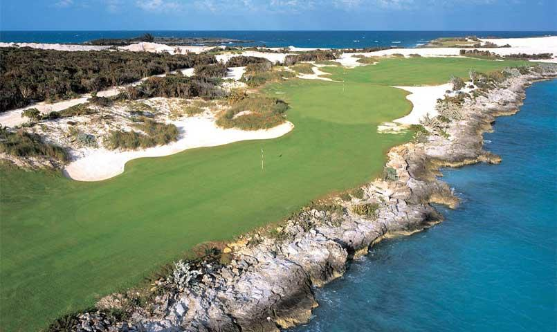 Emerald Bay Resort's 18-hole Greg Norman golf course in the Bahamas