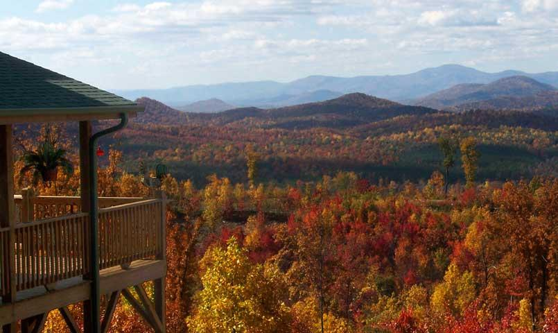 Enjoy views of the Blue Ridge Mountains at Grandview Peaks.