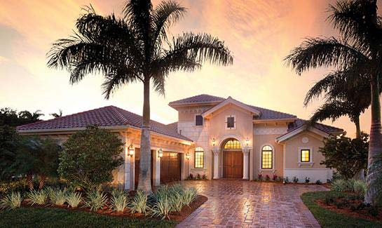 Fiddler's Creek offers a myriad of home selections including coach, single family and custom estate residences.
