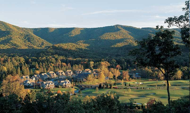 Nestled in the Alleghenies, Sporting Club homes feature fairway, creekside, or mountain views, with many enjoying close proximity to the resort itself.