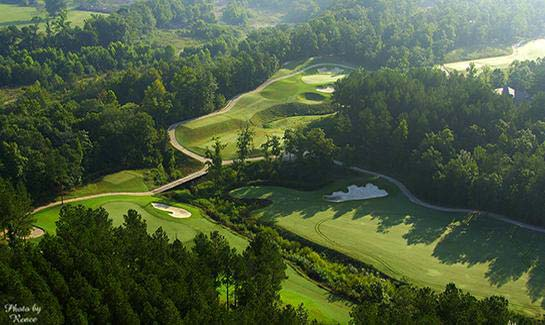 Arguably the most scenic golf course in Hot Springs Village, the championship Granada course is currently in the top 10 of <I>Golf Digest's</I> state rankings.
