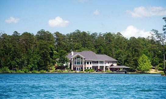 Hot Springs Village offers a variety of lakefront homes for sale or to rent.